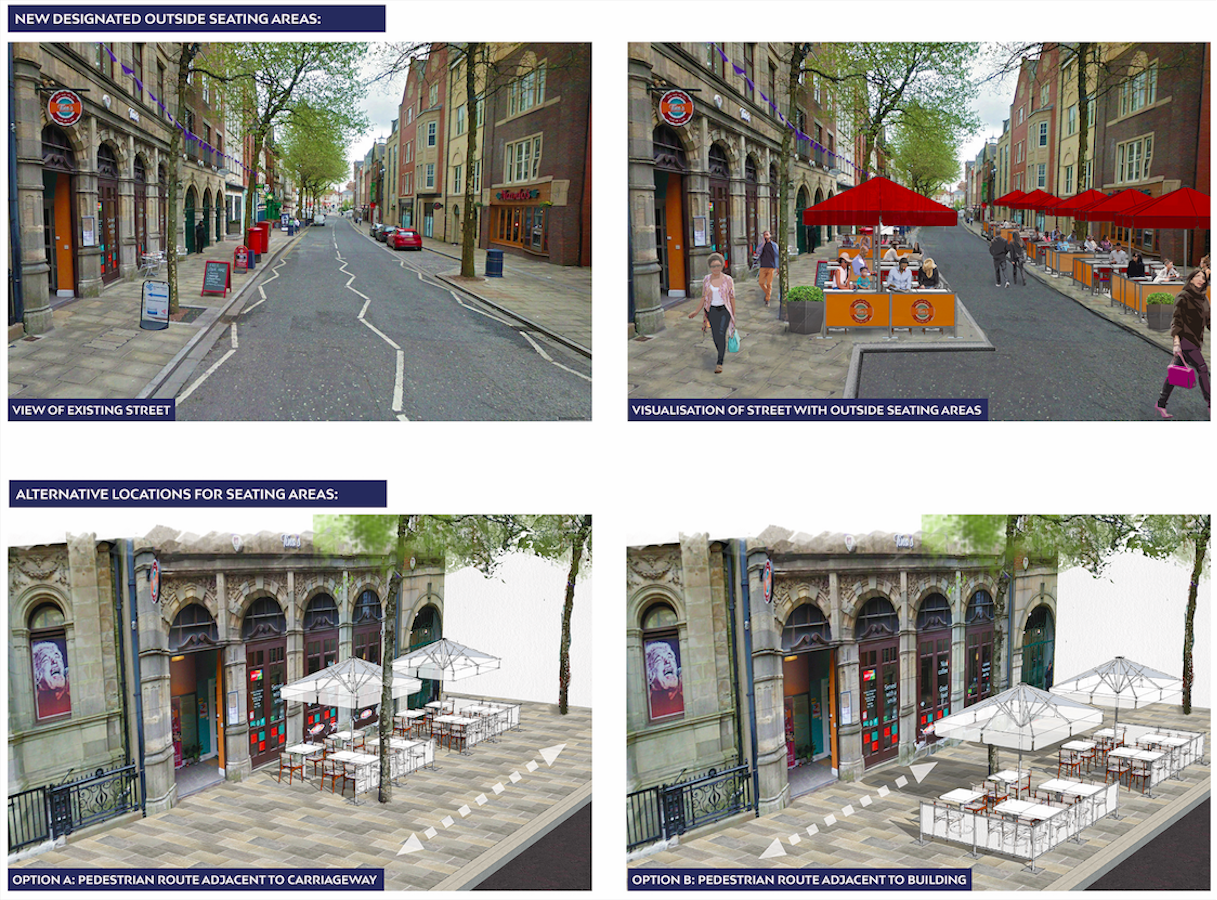 Improving Wind Street, Swansea's Evening & Night Time District